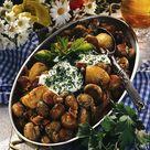 Herzhafte Pilz-Kartoffel-Pfanne Rezept  | LECKER