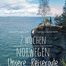 2 Wochen Norwegen Urlaub Unsere Reiseroute Norwegen mit Mietwagen zum Nachfahren  a daily travel mate