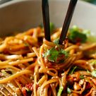 20 Minute Spicy Thai Noodles - The Chunky Chef