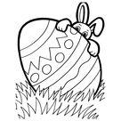 Leuk voor kids | De Paashaas verstopt zich achter een ei