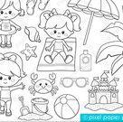 Baby Sailor Stamps  Digital stamps  Clip art   Etsy
