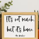 Free Printable Ron Weasley Quote Wall Art:
