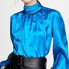 New Blouse tops for office wear gorgeous blouse design ideas for business women 2021