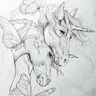 free to print unicorn coloring pages