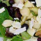 Ensalada de espinacas, manzana y queso   Tasty details