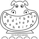 Practice Recognizing Vowels