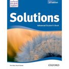OXFORD UNIVERSITY PRESS - Solutions 2nd edition advanced. Student's book