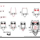 How To Draw An Owl - Art For Kids Hub -