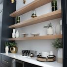The Forest Modern: Our Chic Black Butler's Pantry - The House of Silver Lining