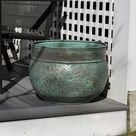 Key West Hose Pot   Blue Verde by Good Directions