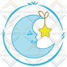 Bedtime Care For Bear Svg, Trending Svg, Bedtime Svg, Bear Svg, Crescent Moon Svg, Moon And Star S