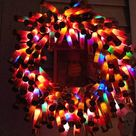 Shotgun Shell Wreath