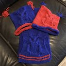 OWL WAYS Hat Knitting Pattern Toddler Child Adult sizes   Etsy