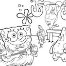 Bob Esponja para colorir - Blog Ana Giovanna