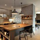 Wohnküche - Die Essenzubereitung war nie so angenehm gewesen! - 40 Ideen für moderne Küchengestaltung