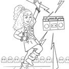 American Girl Doll Courtney Moore giveaway and coloring sheet!