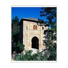 10 inch Photo. Spain. The Alhambra. Wine Gate