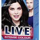 £8.09 GBP - Schwarzkopf Live Intense 099 Deep Black Pro Permanent Hair Colour Dye X 1 #ebay #Fashion