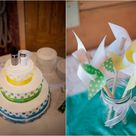 Bright Color Wedding