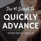 [SECRET] Learn the 4 Step Framework To Advance Your Excel Level in 30 DAYS