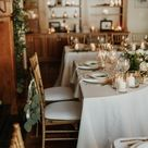 Backyard Intimate Wedding At Home Reception With A Chef