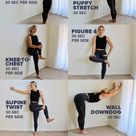 Wall Stretches Relieve Back Pain | Aching Back? Try These Simple, At-Home Stretches to Soothe Sore Muscles