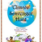 Climate and Climate Change Worksheet Answers