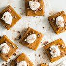 Vegan Pumpkin Pie Squares with Gluten-Free Graham Cracker Crust – Oh She Glows