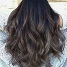 #Beispiele #besten #Black Hair balayage #die #für #Haarfarben