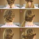 10 Charming Braided Hairstyles Tutorials for Summer - PoPular Haircuts