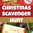 Scavenger Hunt Clues