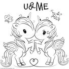 Cute Unicorn 11 Coloring Pages