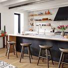 Arlo Swivel Bar & Counter Stool - Bar Stool: Brushed Shale Grey