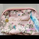 Too Faced Bags   Too Faced Makeup Bag   Color: Pink   Size: Os