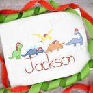 Santa Hat Dinosaur Shirt, Personalized Dinosaur Christmas Shirt, Boy Christmas Shirt, Custom Boy Dinosaur Shirt, Toddler Boy Christmas Shirt