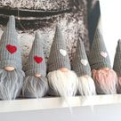 Christmas Gnomes Scandinavian Gnomes Nisse Tomte Holiday   Etsy