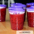 Raspberry Freezer Jam