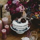 Hochzeitsdeko in Burgunderfarbe - In Saus und Braus
