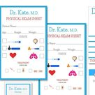 Doctor Dramatic Play Set Hospital or Doctor's Practice   Etsy