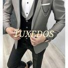 Perfectly Custom Made Men's Wedding Tuxedos