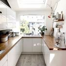 Small White Kitchen Design