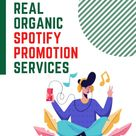 Real Organic Spotify Promotion Services.