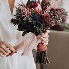 Brautstrauß Herbst Hochzeit