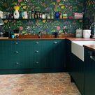 ▷ 1001 + Ideen für Welche Tapete passt in die Küche?