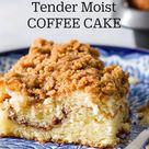 Tender Moist COFFEE CAKE