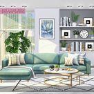 NynaeveDesign's Mist Living Room