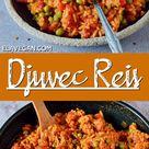 Djuvec Reis Rezept   Gemüsereis mit Ajvar - Elavegan   Rezepte