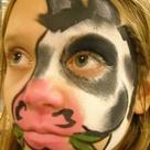 Cow Face Paints