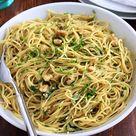 Spaghetti Aglio E Olio - Green Valley Kitchen