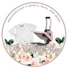 TShirt Business Logo - Clothing Business Logo - Heat Press Business Logo - Graphic Tee Logo - TShirt Maker Logo - Logo for TShirt Business